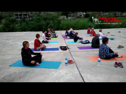 Yoga and Trekking in Himalaya