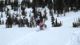 9. 2009 Polaris Assault 800 Free riding
