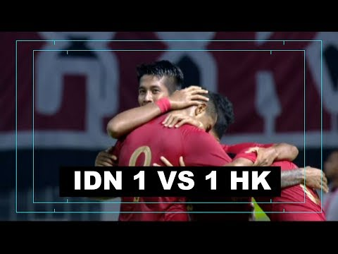 INDONESIA VS HONGKONG  (Friendly Match) 1-1