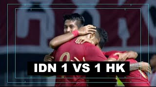Video INDONESIA VS HONGKONG  (Friendly Match) 1-1 MP3, 3GP, MP4, WEBM, AVI, FLV November 2018