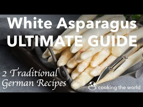 2 Traditional GERMAN White Asparagus Recipes In ONE GO!