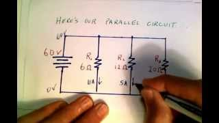 Calculating Current in a Parallel Circuit.mov