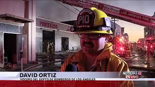Incendio en el distrito de la moda- Noticias 62 - Thumbnail