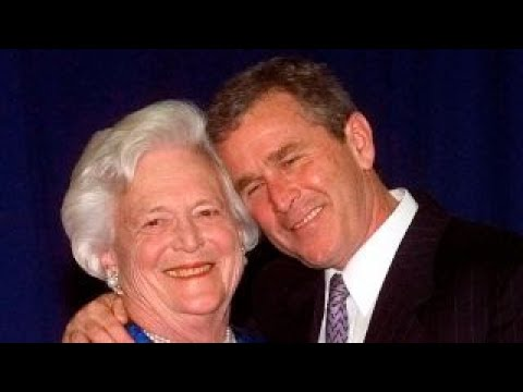 George W. Bush on Barbara Bush: Laura and I are grateful for people's prayers