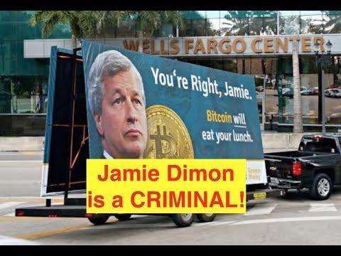 "Jamie Dimon is a ""Bitcoin IDIOT!!"" (Bix Weir) video"
