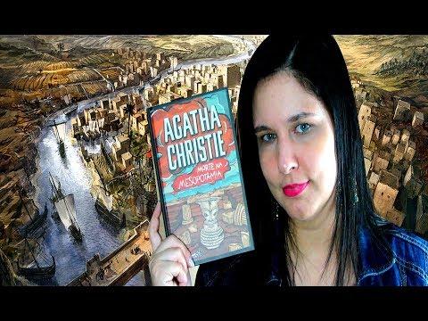 Morte na Mesopotâmia - Autora: Agatha Christie