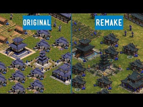 Age of Empires Definitive Edition vs Original | Graphics comparison