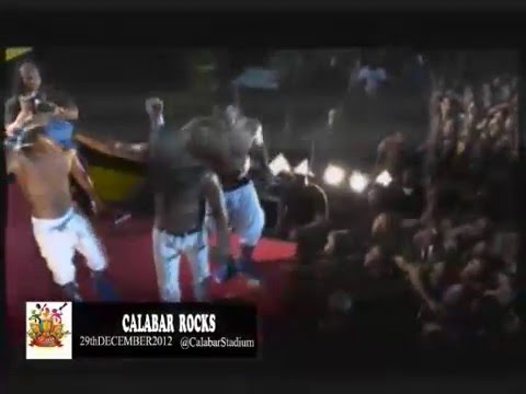 0 VIDEO: Akon, 2face, M.I, P Square, Naeto C, Iyanya & Wande Coal Thrill At Calabar Carnival 2012