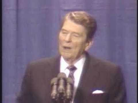 joke - Reagan tells Soviet jokes.