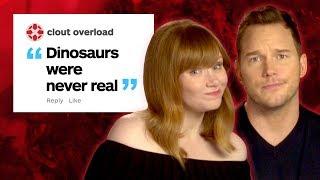 Video Chris Pratt and Bryce Dallas Howard Respond to IGN's Jurassic World 2 Comments MP3, 3GP, MP4, WEBM, AVI, FLV Juli 2018