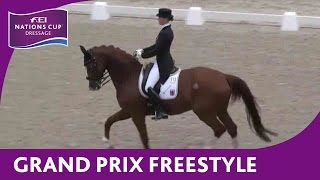 Re-Live - Dressage - FEI Nations Cup™ - Rotterdam - Grand Prix Freestyle