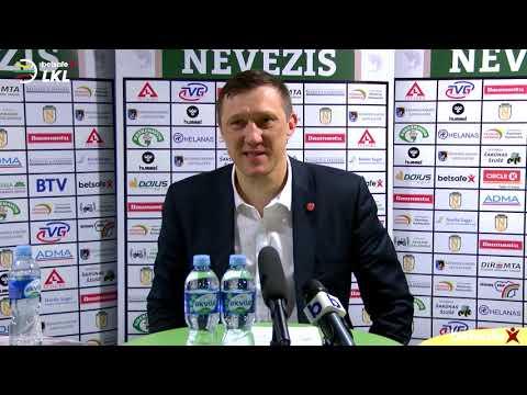 """""""Betsafe–LKL"""" rungtynių komentarai: """"Nevėžis"""" - """"Juventus"""" [2019-01-13]"""