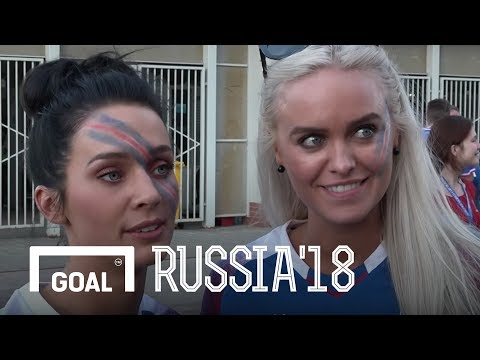 World Cup 2018: Iceland fans react to the draw against Argentina (видео)