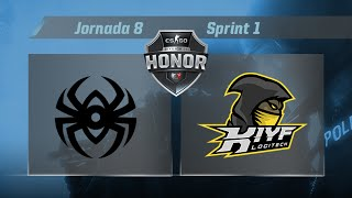 [CS:GO] - Omnis Club vs KIYF Logitech - #CSHonor - Jornada 8 - T.10