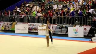 Mazkeret Batya Israel  city images : Acrobatic Gymnastics MIAC 2016 AG2 Mx2 Din Israel
