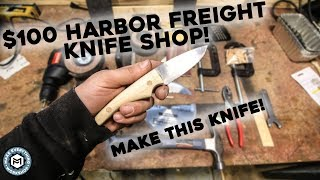 Video $100 Harbor Freight Knife Shop! MP3, 3GP, MP4, WEBM, AVI, FLV April 2019