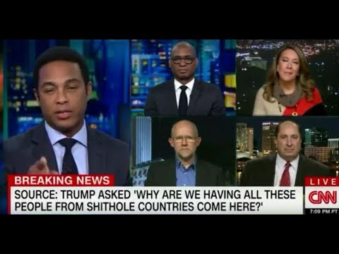 CNN's Don Lemon Kicks Trump Supporter Off Program Over 'Sh*thole' Comment