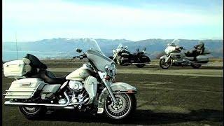 7. H-D Electra Glide Ultra, Honda Goldwing e Triumph Rocket III Touring my 2009