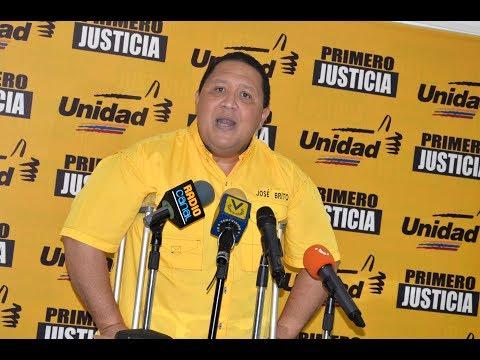 """José Brito: """"Tarek William Saab es el responsable de la detención del estudiante Alberto Acosta"""""""
