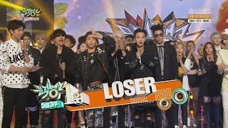 BIGBANG – 'LOSER' 0515 KBS Music Bank : NO.1 OF THE WEEK
