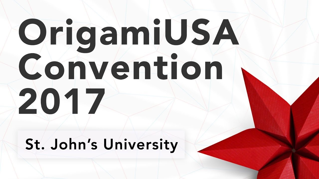 OrigamiUSA Convention 2017