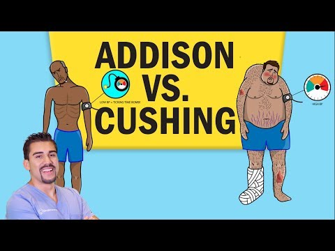 Addisons vs Cushing's Disease for NCLEX RN