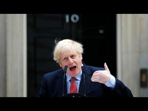 Großbritannien: Premier Johnson wieder im Amt, Warnun ...