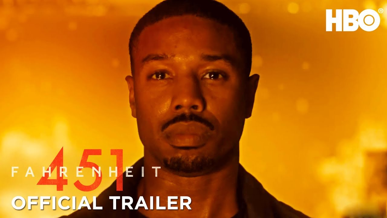 Michael B. Jordan & Michael Shannon Burn Books in HBO's 'Fahrenheit 451' (Trailer) Based on Ray Bradbury's Classic Novel