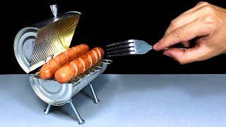 How To Make a Mini BBQ