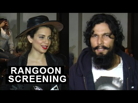 Kangana Ranaut | Randeep Hooda | Rangoon Special S