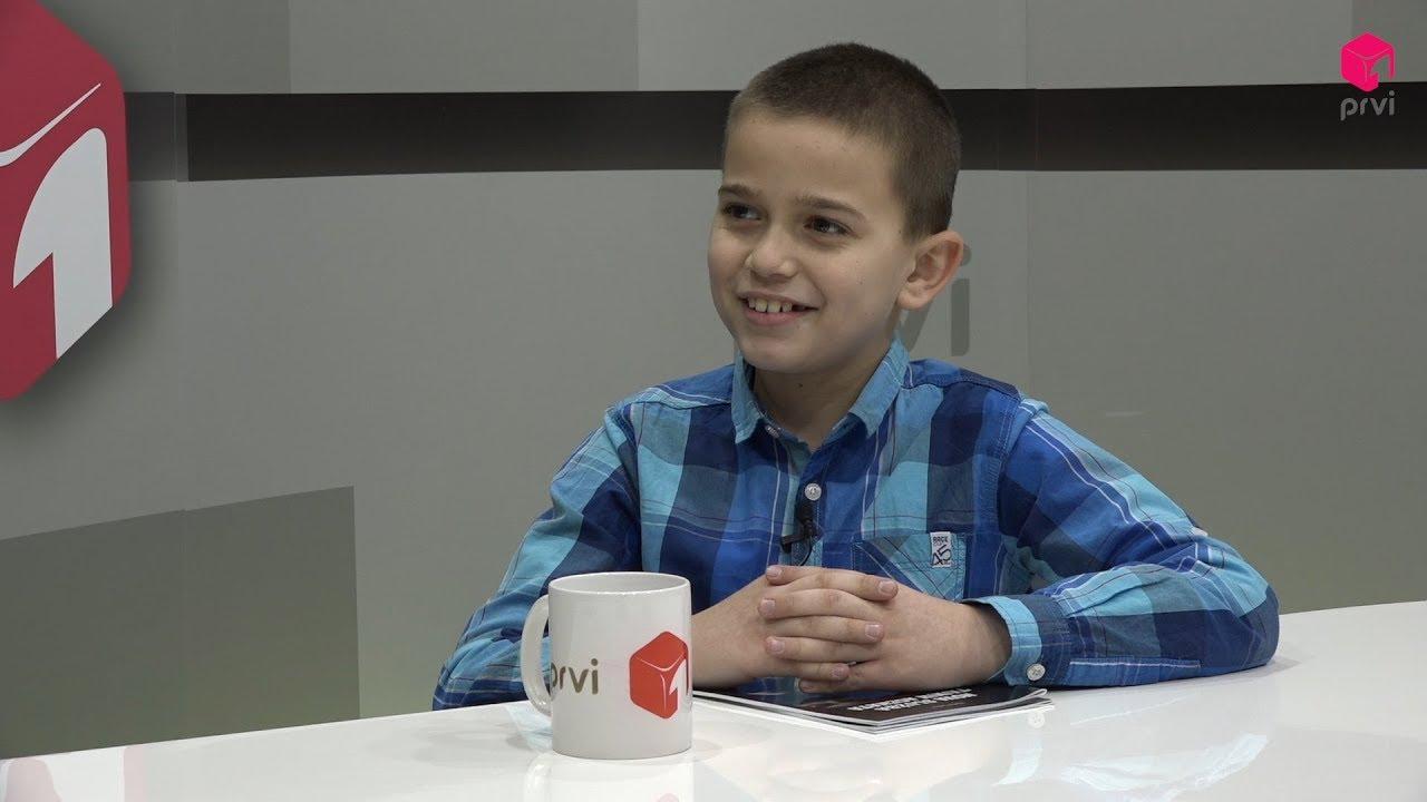 Marko Letica - mladi autor romana Nova služba tajnih agenata