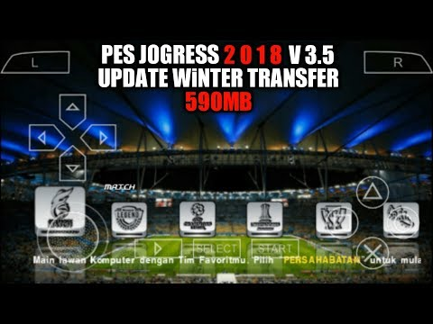 Download Game PES JOGRESS 2018 V3.5 Bahasa Indonesia PPSSPP Android