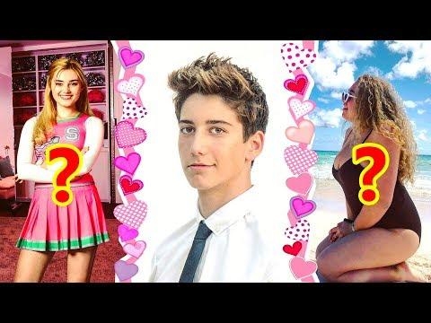 Girls MILO MANHEIM Has Dated 💕 ft MEG DONNELLY, HOLIDAY MIA KRIEGEL 💑 Zombies ZED Girlfriends IRL