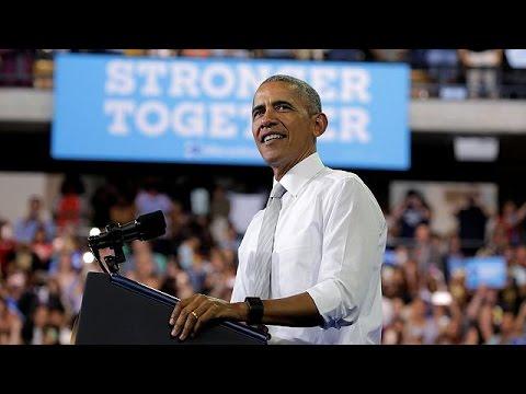 ΗΠΑ: Στη μάχη της προεκλογικής περιόδου και ο Μπαράκ Ομπάμα – world