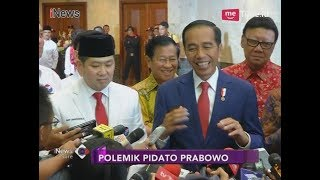 Video Presiden Tertawa Ditanya Pidato Prabowo soal Indonesia Bubar 2030 - iNews Sore 22/03 MP3, 3GP, MP4, WEBM, AVI, FLV Januari 2019
