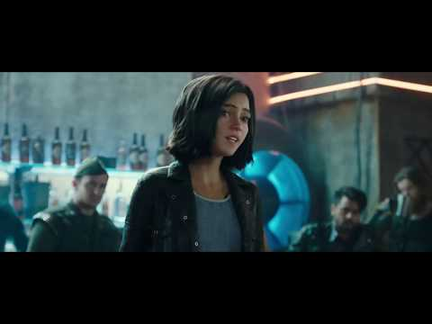 Alita vs Hunter-Warriors Bar Fight Scene - Alita Battle Angel (2019)