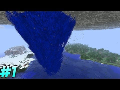 Minecraft tornado mod survival episode 1 school minecraft
