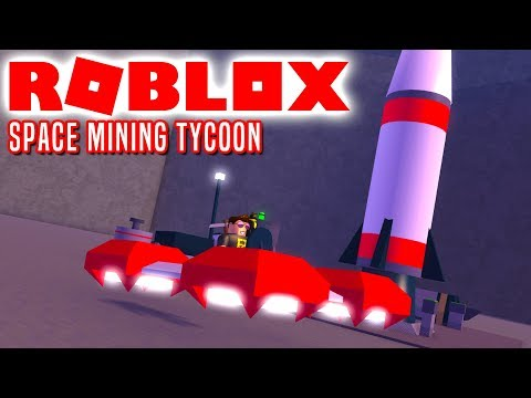 MINER I RUMMET! - Roblox Space Mining Tycoon Dansk Ep 1