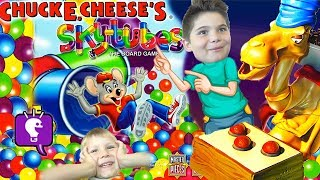 Camel and Chuck E Cheese Board Games with HobbyKidsTV