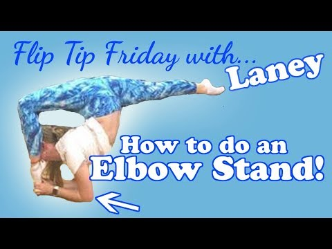 Flip Tip Friday with Laney Puhalla (Season 1 Episode 5) Elbow Stand/ Forearm Stand