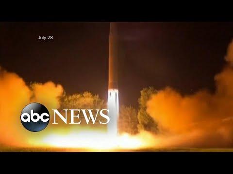 """טראמפ מאיים על קוריאה הצפונית לאחר השיגור: """"כל האפשרויות על השולחן"""""""