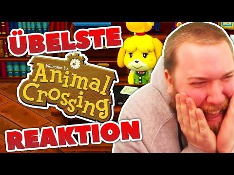 ÜBELSTE Animal Crossing REACTION!