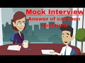 Call center Interview Questions and Answers 2017 | Sample Answers | Mock Interview