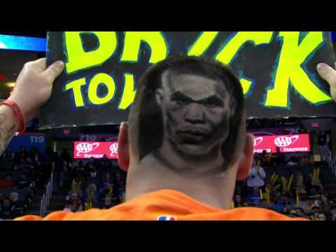 Russell Westbrook impressionné par la coupe de cheveux à son effigie d\u0027un  fan d\u0027OKC