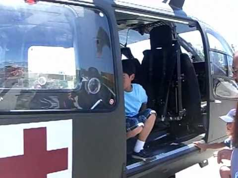 Close look at U.S. Army new Eurocopter Ambulance UH-72 Lakota  Helicopter -6