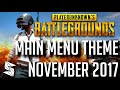 Download Lagu *NEW* Playerunknown's Battlegrounds | Main Menu Theme NOV 2017 Mp3 Free