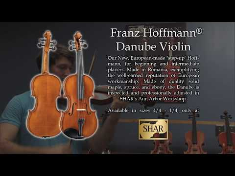 Video - Franz Hoffmann® Danube Violin - Instrument Only | HEV200