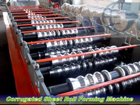 Machine Corrugated - This video was taken during customer's inspection on our corrugated sheet roll forming machine before shipping to Algeria,and it got customer's approval that...