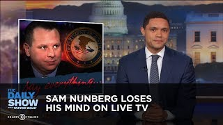Video Sam Nunberg Loses His Mind on Live TV | The Daily Show MP3, 3GP, MP4, WEBM, AVI, FLV Oktober 2018