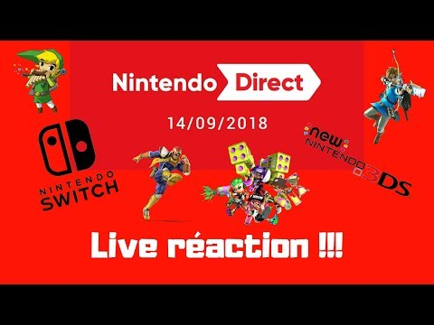 Live réaction: Nintendo direct du 14 Septembre (видео)